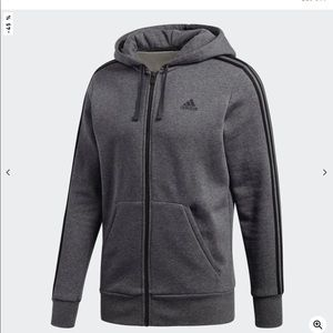 Adidas Warm Hooded Jacket.